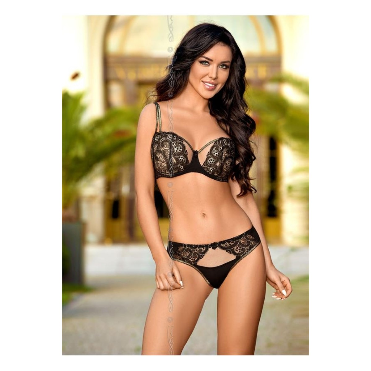 Venetian mirror push up bh-01