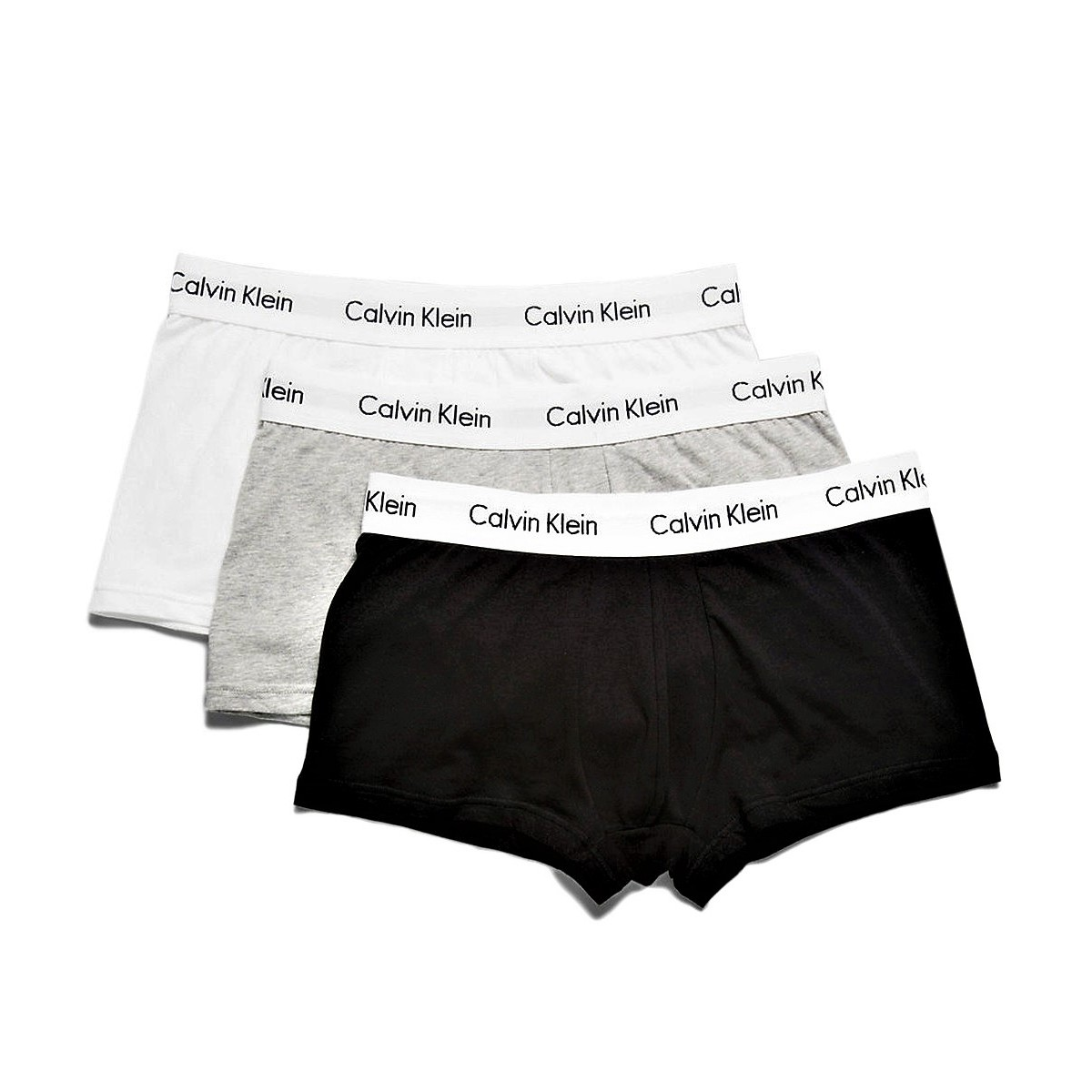 CALVIN KLEIN UNDERWEAR LOW RISE 3 PACK