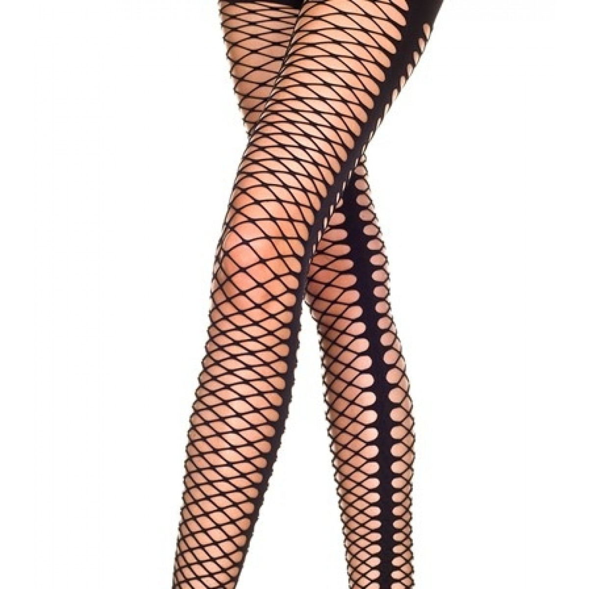 Black net leggings-01