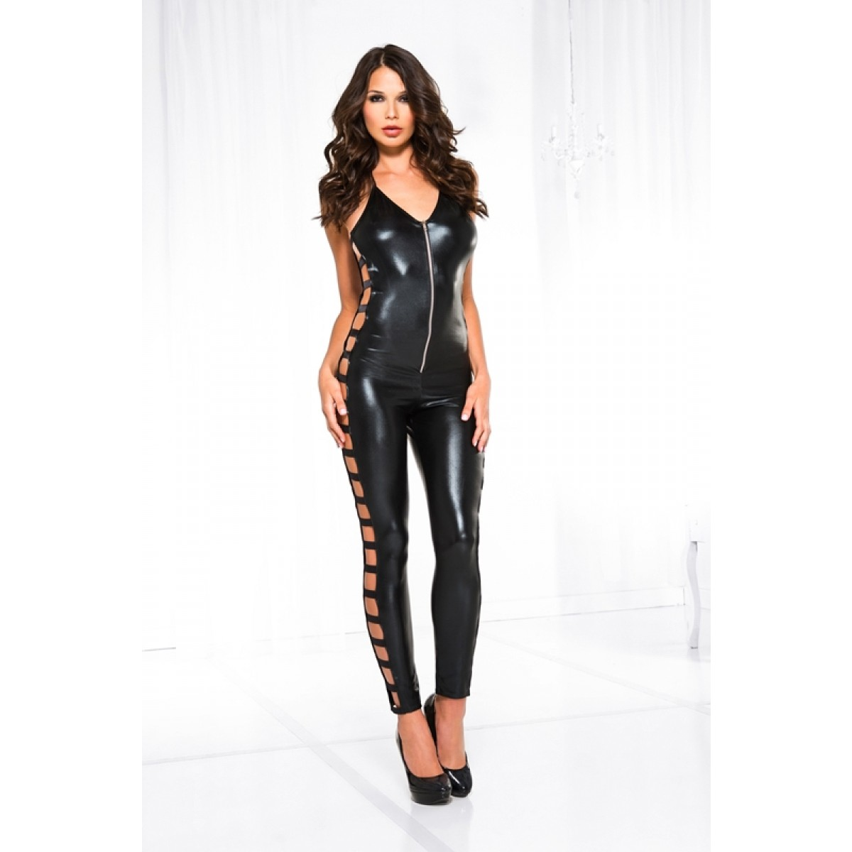 WETLOOK BODYSUIT