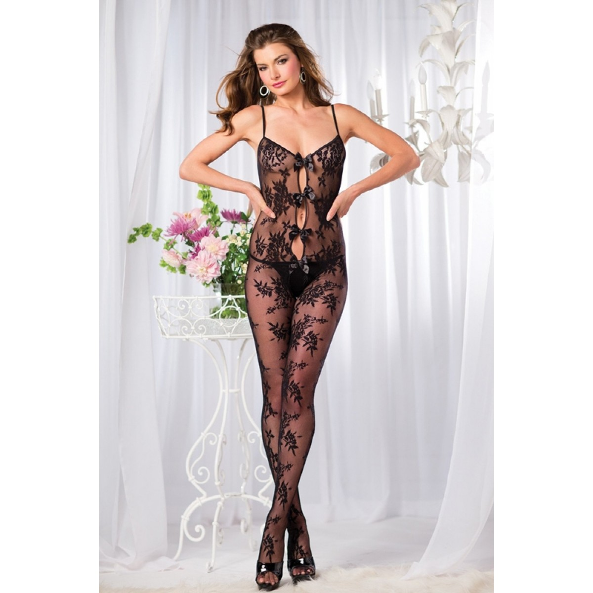 BE WICKED BODYSUIT MED BLONDE MØNSTER-01